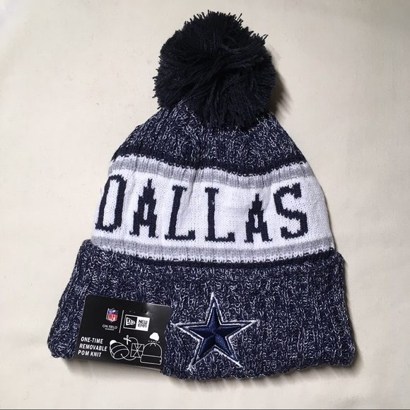 bdc5e9dbbbc83 Dallas Cowboys beanie hat